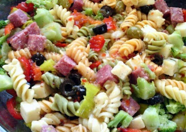Easiest Way to Make Super Quick Homemade Extreme Pasta Salad