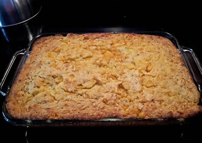 Recipe: Yummy Cream corn casserole