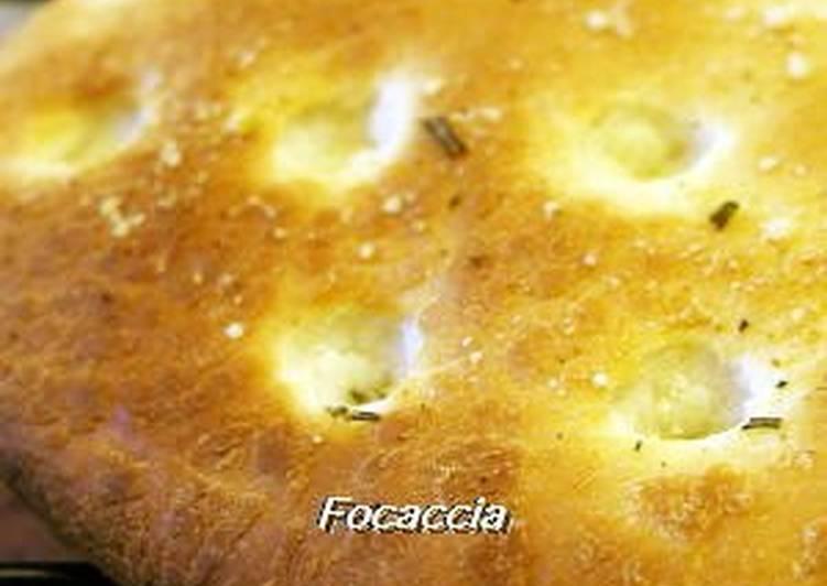 Simple Way to Make Super Quick Homemade Focaccia in a Bread Maker