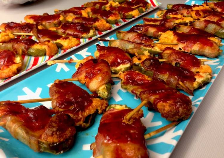 Recipe of Ultimate Bacon Wrapped Jalapeño Poppers