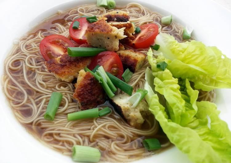 Recipe of Homemade Somen Noodle Soup