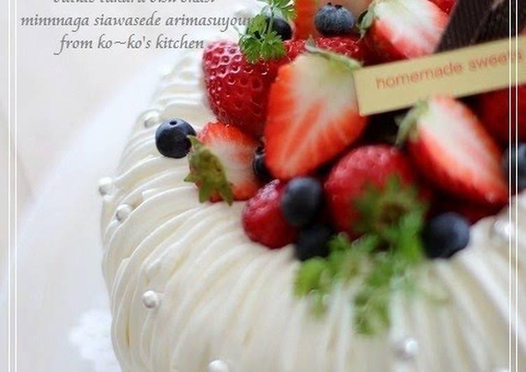 Cute Angel Food Cake