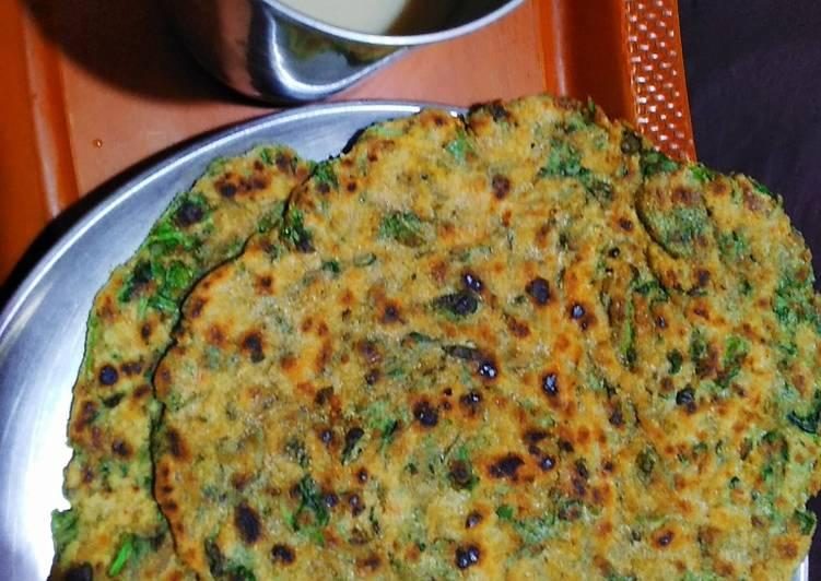 Fenugreek leaves Paratha