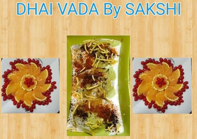 Recipe: Tasty Instant Dahi Vada with bread Quick and easy Recipe