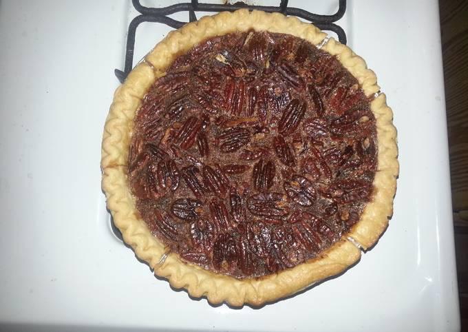 Cognac Pecan Pie