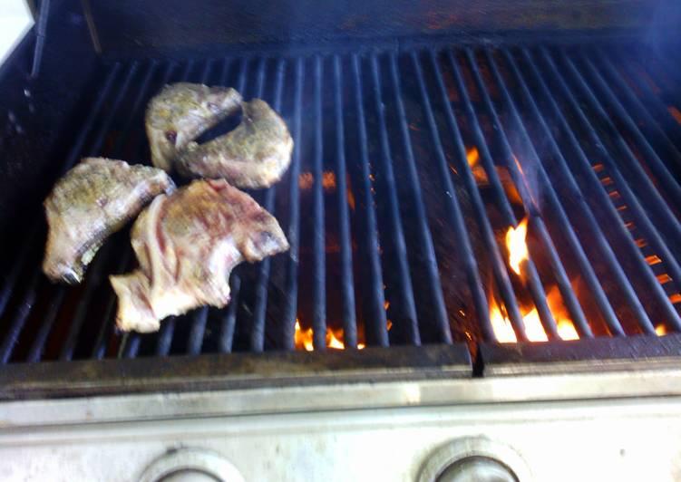 Recipe of Homemade BBQ Lamb chops