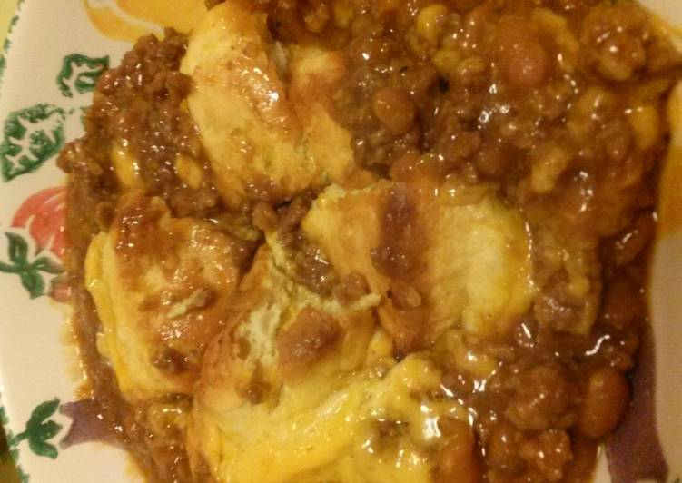 What is Dinner Ideas Special Honey Biscuit Beef Bake