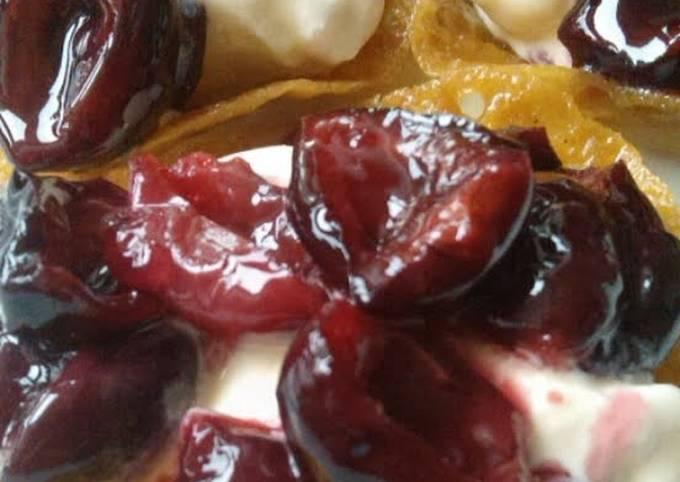 Vickys Brandied Cherries, Gluten, Dairy, Egg & Soy-Free