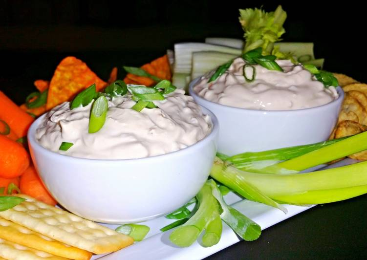 Turn to Food to Improve Your Mood Mike's 1 Minute Onion Dip