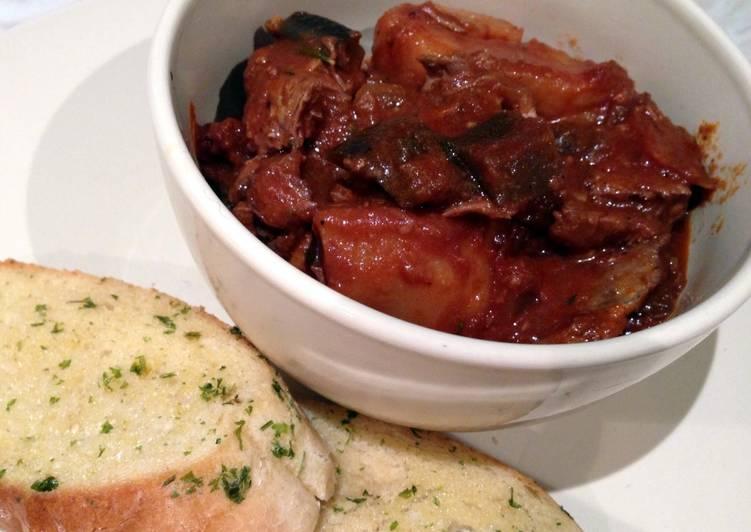 Simple Way to Make Super Quick Homemade Beef And Chorizo Stew