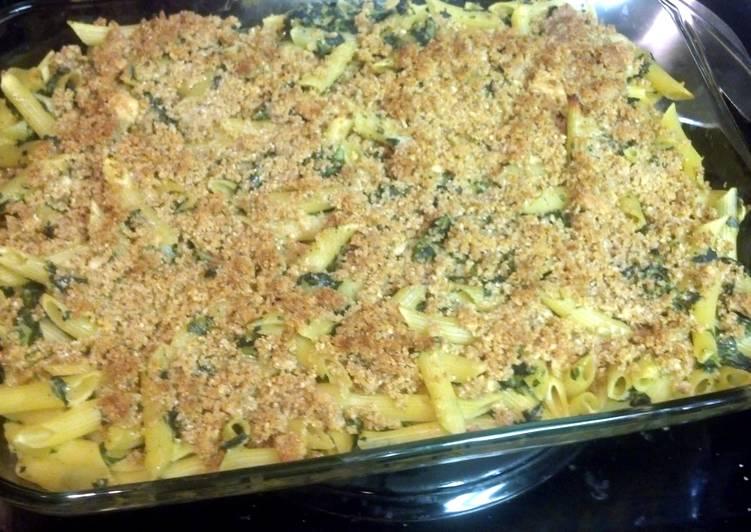 Top 10 Dinner Ideas Speedy Spinach Mac & Cheese AuGratin