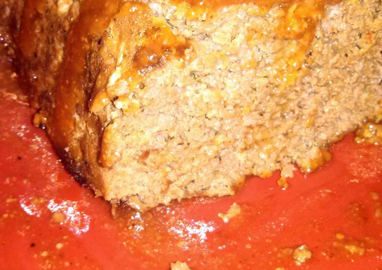 Easiest Way to Cook Perfect Lorali's Favorite Meatloaf (special topping)