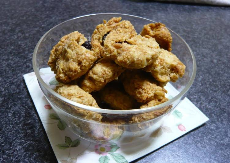 Recipe of Perfect Oatmeal and Coconut Cookies