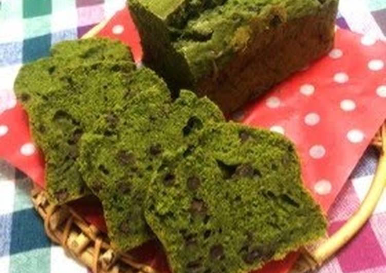 Recipe of Matcha and Adzuki Poundcake in 20 Minutes for Beginners