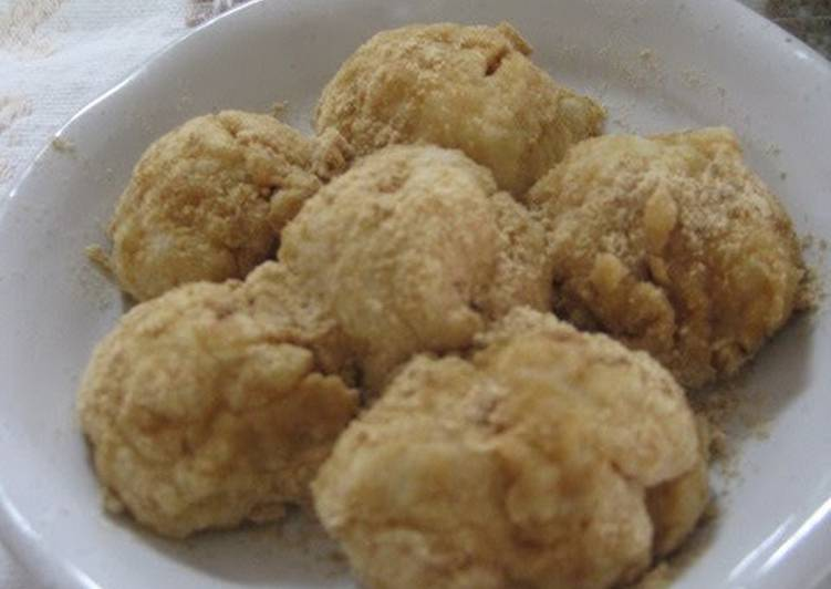 Recipe of Speedy Soft Milk Mochi With Rice Bran