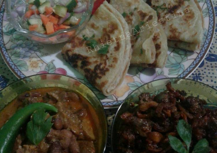 Spicy Alloo Mutton Curry