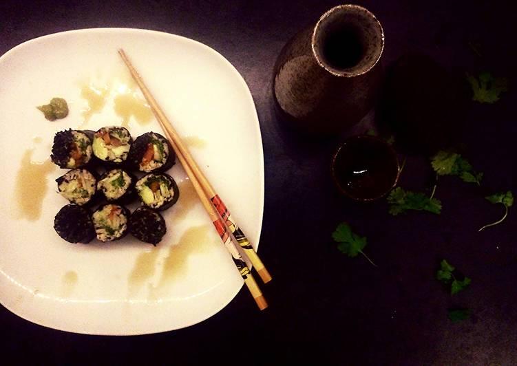 Black Sesame Sushi