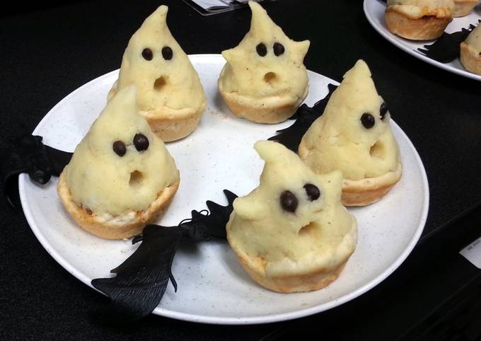 Easiest Way to Make Perfect Mashed Potato Ghost Cups