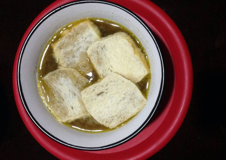 Pinoy Style Onion Soup Recipe By Rani Ernacio Cimafranca Cookpad