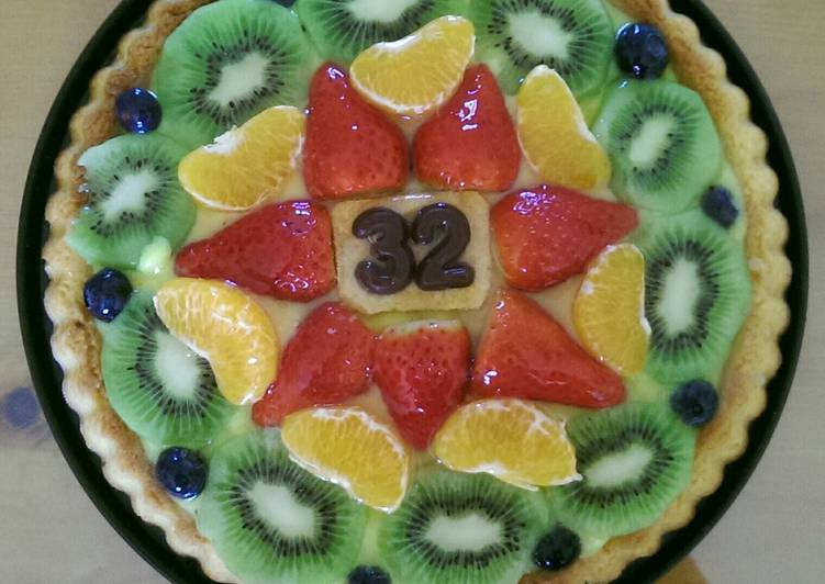 Recipe of Ultimate Fruit Tart