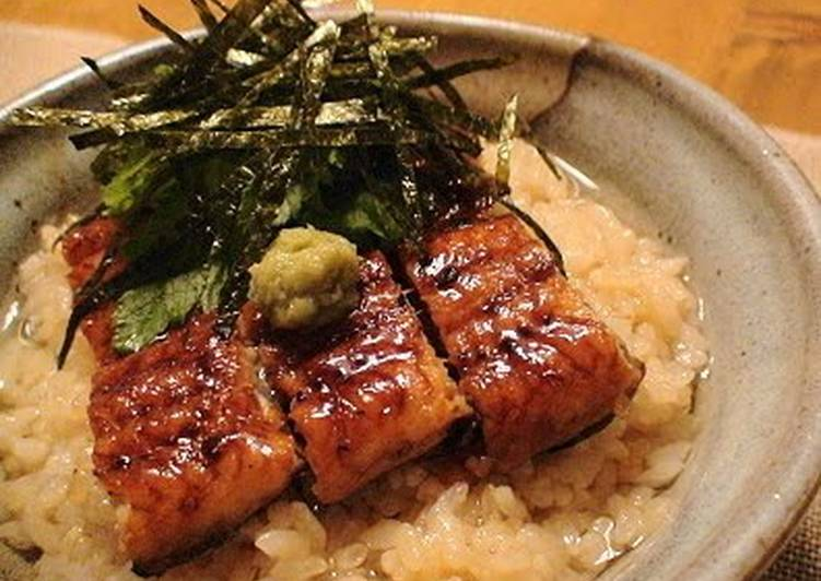 Step-by-Step Guide to Make Homemade Dashi Chazuke with Broiled Eel