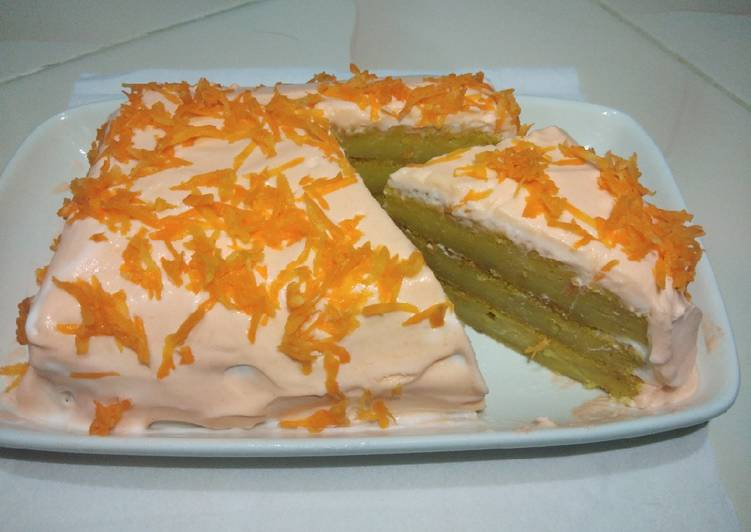 Carrot cake (kue wortel)
