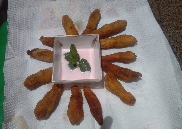 Recipe of Any-night-of-the-week Fish fingers #kids contest