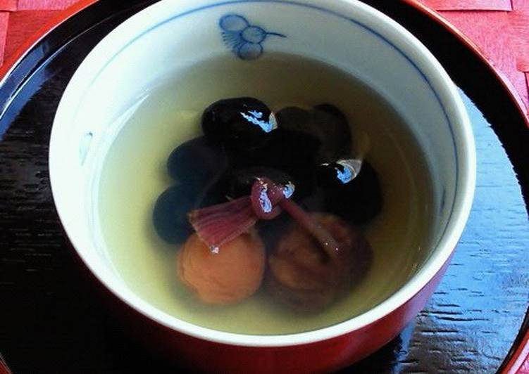 Recipe: Appetizing To Serve to Guests or on Special Occasions: Good Luck Tea with Black Soy Beans