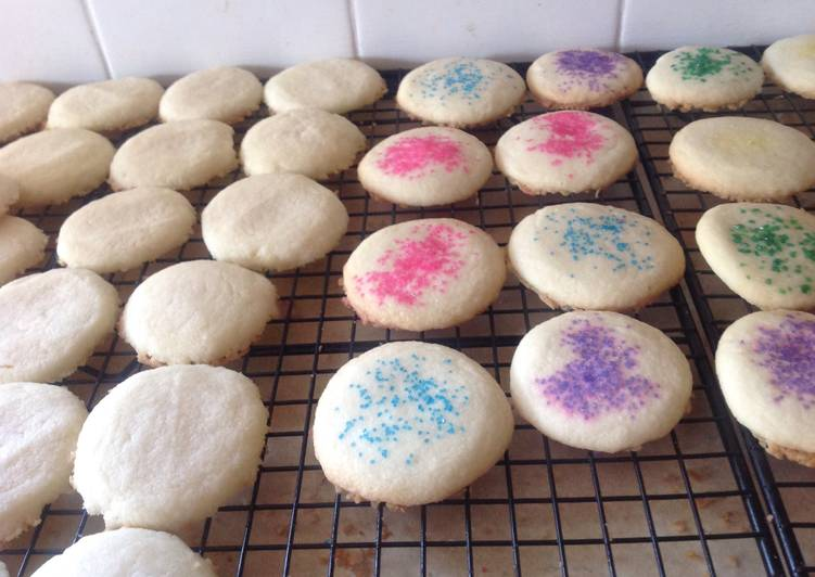Recipe of Favorite Shortbread Cookies