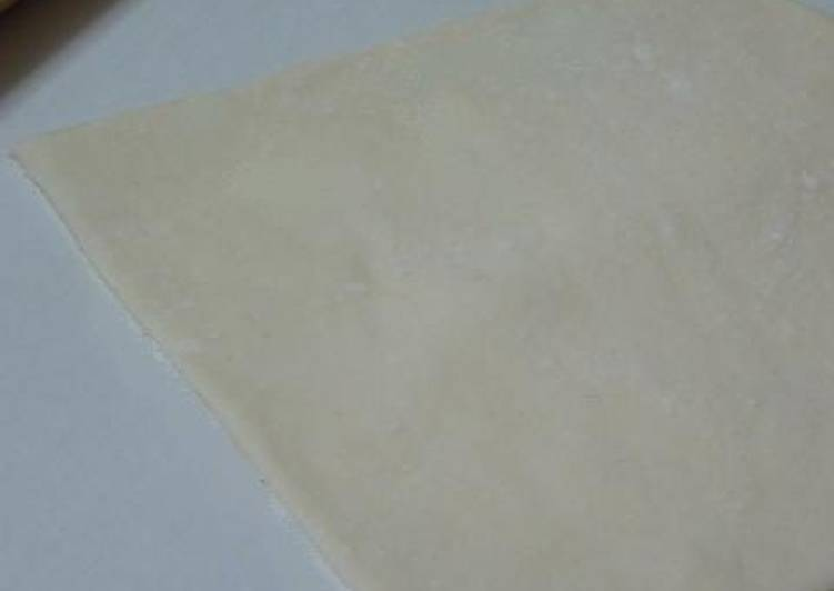 Recipe of Favorite Handmade Spring Roll Wrappers and Gyoza Skins