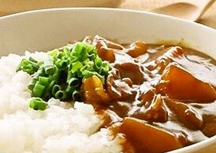 How to Make Quick Daikon Radish and Pork Belly Curry Rice