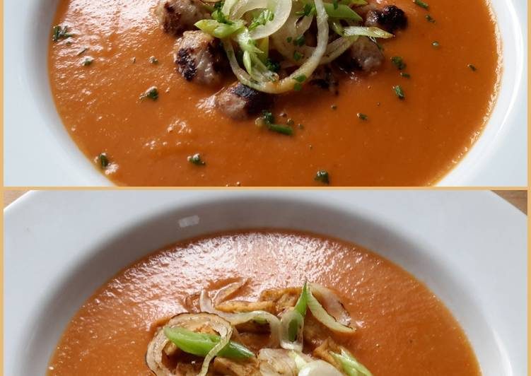 Easy Homemade Sig's Mixed Onion and Tomato Soup Recipe