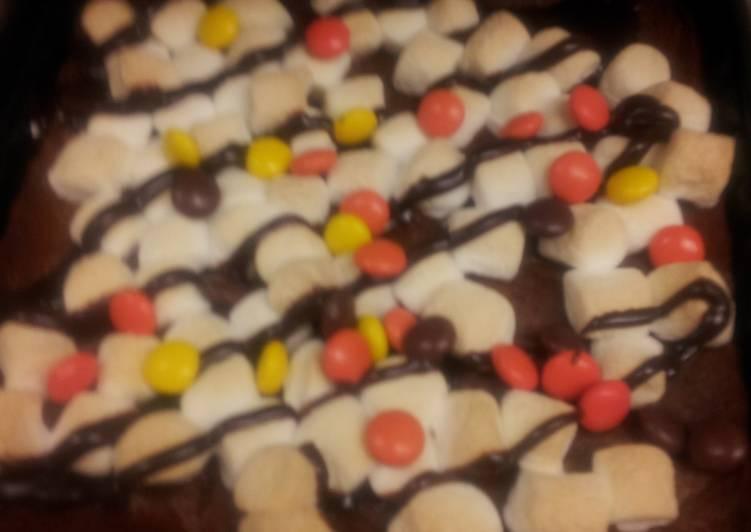Goeey peanut butter cookie bars