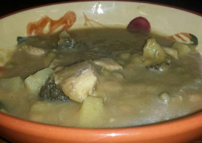 Turkey And Asparagus Soup