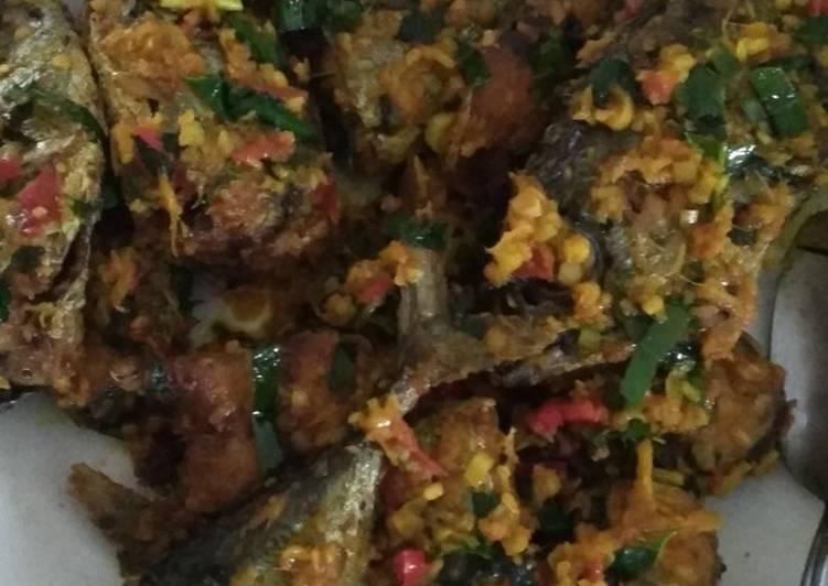 Ikan Tuna Masak Woku Kering