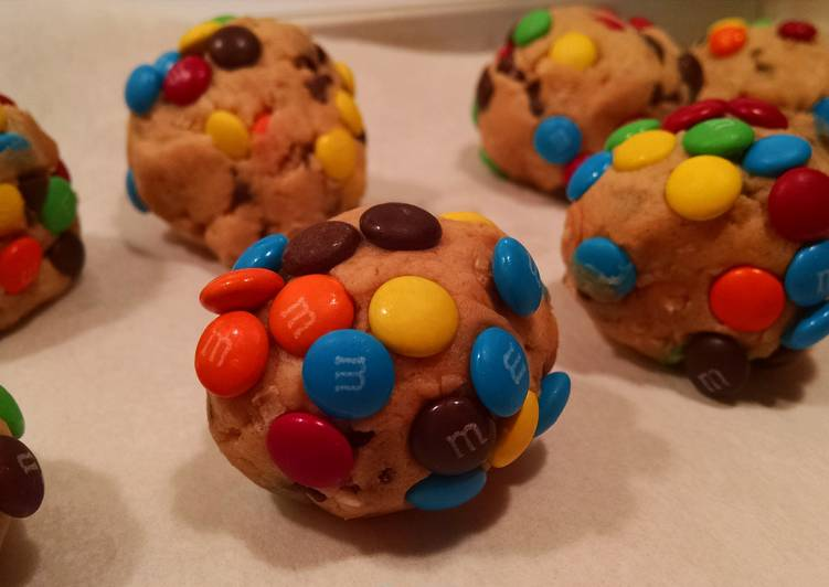 Monster Cookie Dough Balls