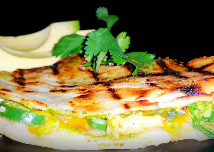 Turn to Food to Boost Your Mood Mike's Grilled Shrimp Quesadillas Or Tacos
