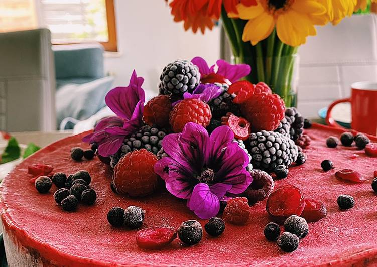 How to Make Favorite Berry ice cream cake 🍨🍓🍒