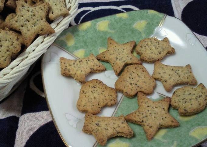 How to Make Tasty Tea Flavoured Biscuits (No Oil or Eggs!)