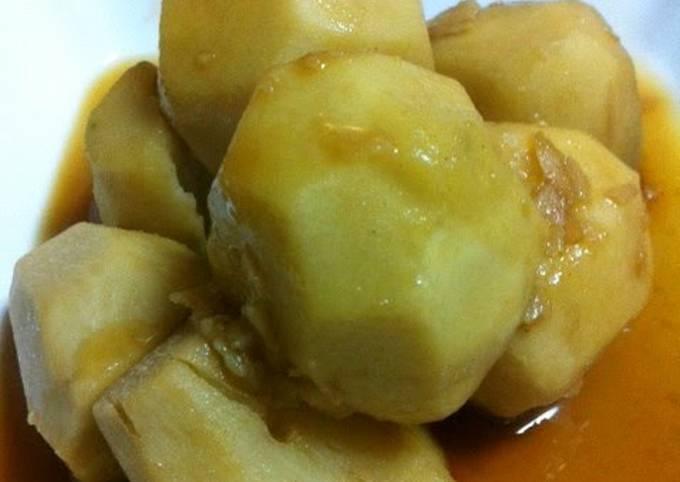 Oooh, So Tasty! Stewed Taro Root Tumbles