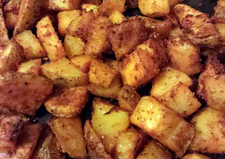 Elisa's Baked Seasoned Potatoes - Laurie G Edwards