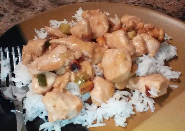 Simple Way to Make Perfect Kung Pao Chicken