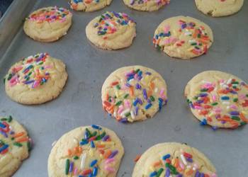 How to Prepare Yummy Double butter cookies
