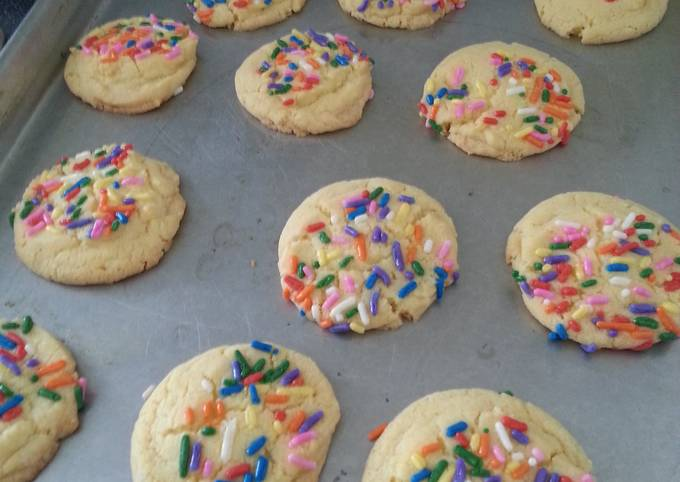 Double butter cookies