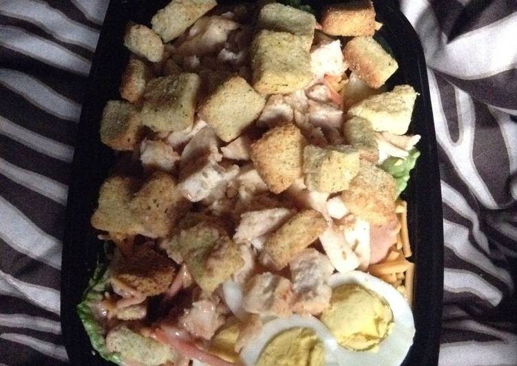 Simple Way to Prepare Any-night-of-the-week Spicy BBQ Ranch Chicken Salad