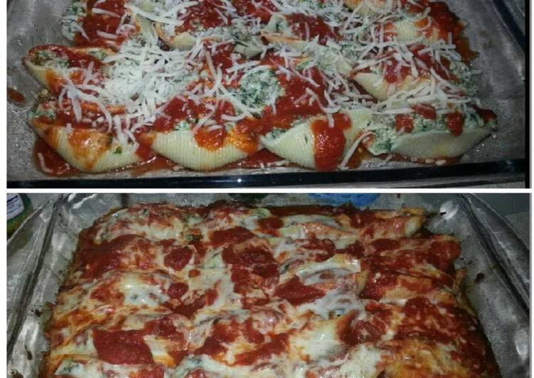 Jumbo stuffed shells with ground beef & spinach!, Heart Friendly Foods You Must Eat