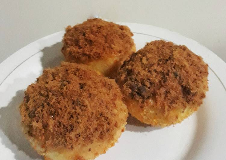 Roti Abon simple