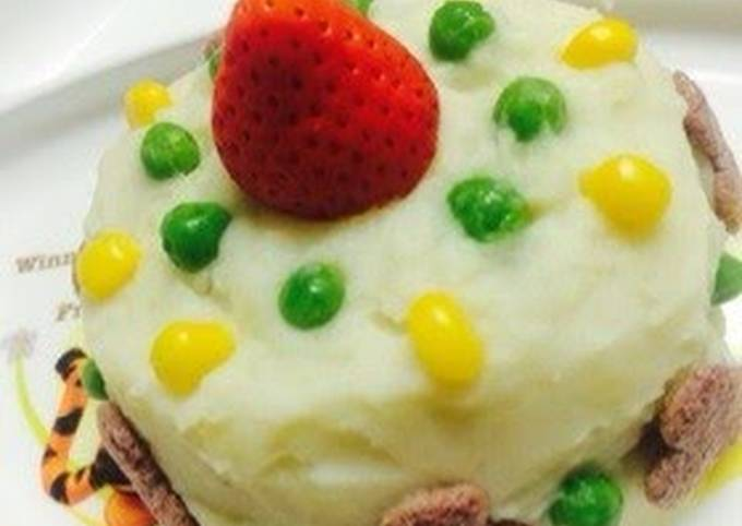 """Egg and Dairy Free Vegetable """"Birthday Cake"""" For Babies"""