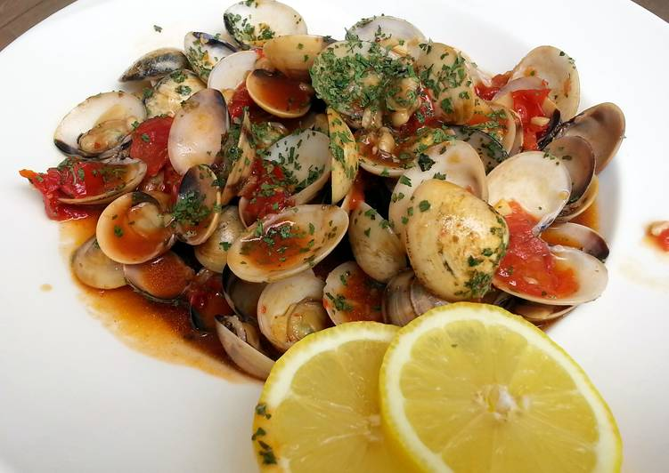 Easiest Way to Make Award-winning Clam In Tomato Sauce