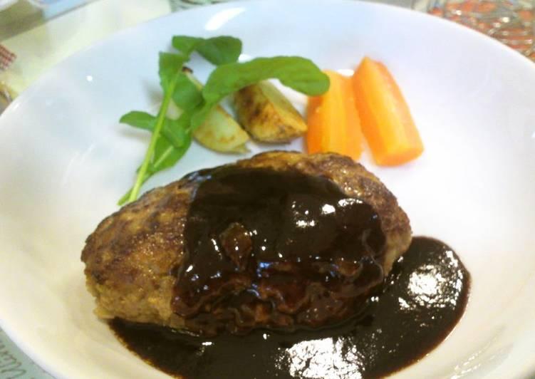 Umami Hamburger Steak